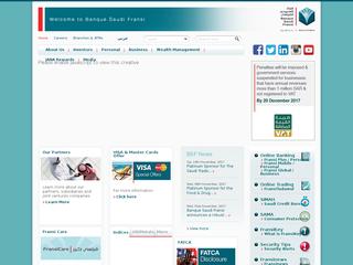 البنك السعودي الفرنسي - alfransi.com.sa