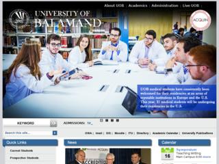 جامعة البلمند BALAMAND - balamand.edu.lb